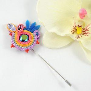 Broche Julia mango.