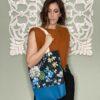 Tote Bag flores azul